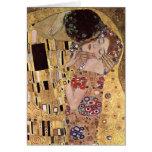 Gustav Klimt ~ the Kiss Greeting Card