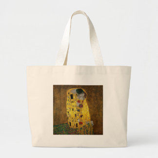 Gustav Klimt The Kiss Jumbo Tote Bag
