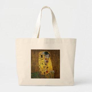 Gustav Klimt The Kiss Jumbo Tote Bag