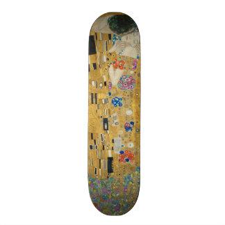 Gustav Klimt - The Kiss Custom Skateboard