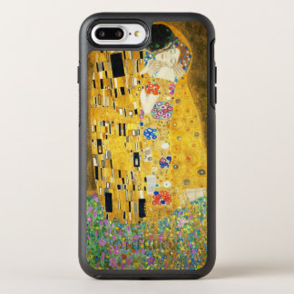 Gustav Klimt The Kiss Vintage Art Nouveau Painting OtterBox Symmetry iPhone 8 Plus/7 Plus Case