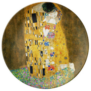 Gustav Klimt Plates Zazzle Au