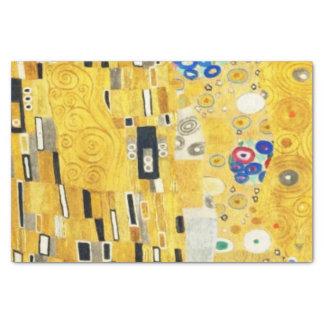 Gustav Klimt The Kiss Vintage Art Nouveau Painting Tissue Paper