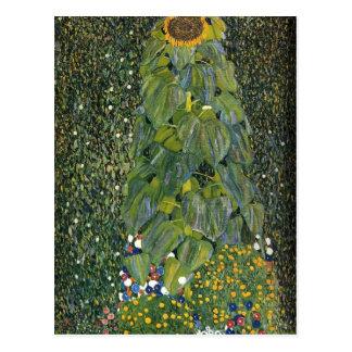 Gustav Klimt- The Sunflower Postcard