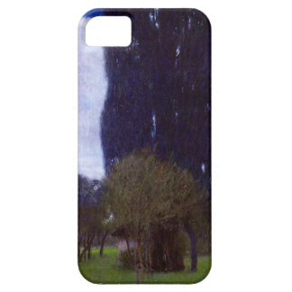 Gustav Klimt The Tall Poplar Trees iPhone 5 Covers