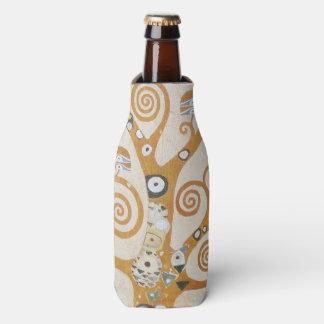 Gustav Klimt The Tree Of Life Art Nouveau Bottle Cooler