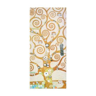 Gustav Klimt The Tree Of Life Art Nouveau Canvas Print