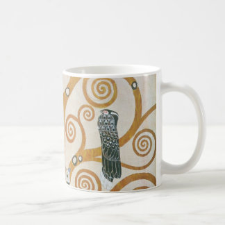 Gustav Klimt The Tree Of Life Art Nouveau Coffee Mug