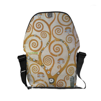 Gustav Klimt The Tree Of Life Art Nouveau Commuter Bag