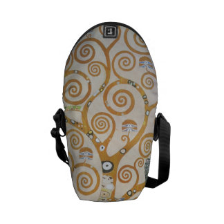 Gustav Klimt The Tree Of Life Art Nouveau Courier Bags