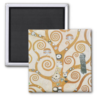 Gustav Klimt The Tree Of Life Art Nouveau Magnet