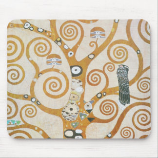Gustav Klimt The Tree Of Life Art Nouveau Mouse Pad