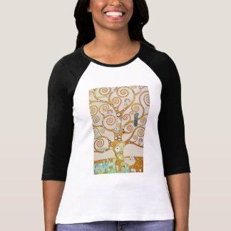 Gustav Klimt The Tree Of Life Art Nouveau T-Shirt