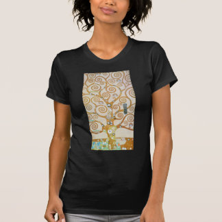Gustav Klimt The Tree Of Life Art Nouveau T-Shirt