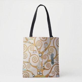Gustav Klimt The Tree Of Life Art Nouveau Tote Bag