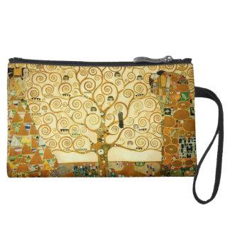 Gustav Klimt The Tree Of Life Vintage Art Nouveau Wristlets