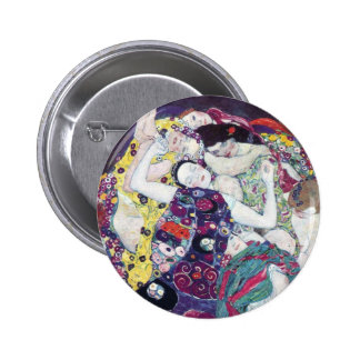 Gustav Klimt The Virgin Button