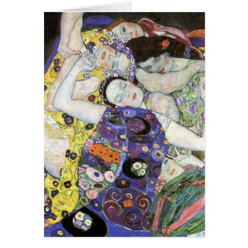 Gustav Klimt ~ The Virgin Cards
