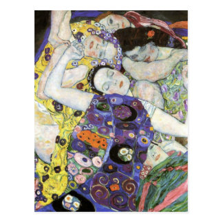 Gustav Klimt ~ The Virgin Post Card