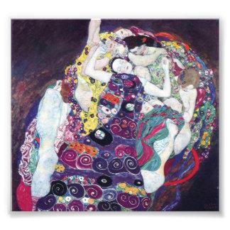 Gustav Klimt The Virgin Print