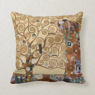 Gustav Klimt Tree Of Life Cushion