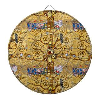"Gustav Klimt, ""Tree of life"" Dartboards"