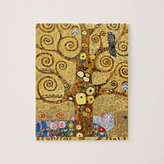 "Gustav Klimt, ""Tree of life"" Jigsaw Puzzle"