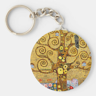 "Gustav Klimt, ""Tree of life"" Key Ring"
