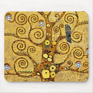 """Gustav Klimt, """"Tree of life"""" Mouse Pad"""