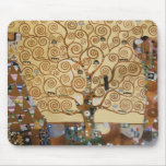 Gustav Klimt Tree Of Life Mousepads
