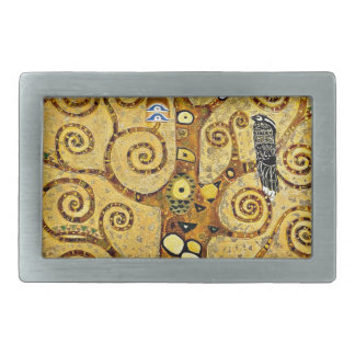 "Gustav Klimt, ""Tree of life"" Rectangular Belt Buckle"