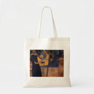 Gustav Kllimt Harp Music Tote Bag