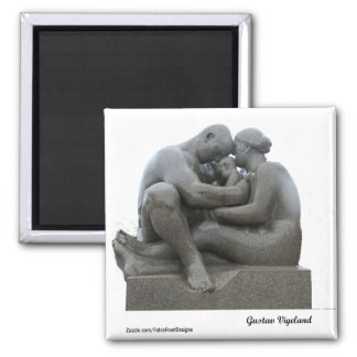Gustav Vigeland Sculpture - Oslo, Norway - magnet