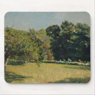 Gustave Caillebotte  - A Garden in Trouville Mouse Pad