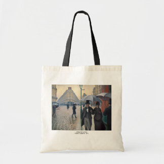 Gustave Caillebotte Tote Bags