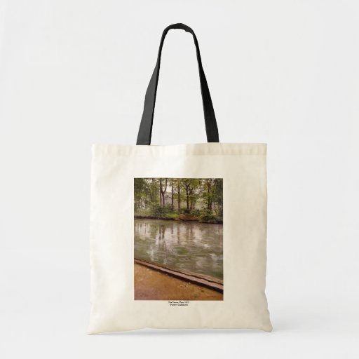 Gustave Caillebotte Canvas Bags