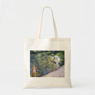 Gustave Caillebotte- Boating on the Yerres Tote Bags