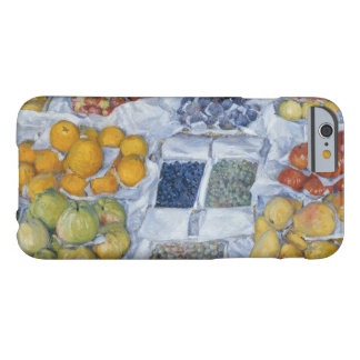 Gustave Caillebotte - Fruit Displayed on a Stand Barely There iPhone 6 Case