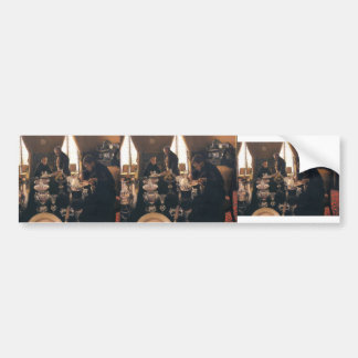 Gustave Caillebotte- Luncheon Bumper Stickers