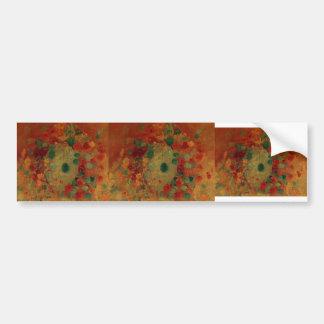 Gustave Caillebotte- Nasturtiums Bumper Sticker