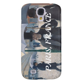 Gustave Caillebotte Paris Street Rainy Day Samsung Galaxy S4 Covers