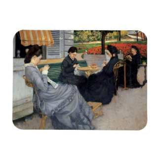 Gustave Caillebotte - Portraits in the Countryside Magnet