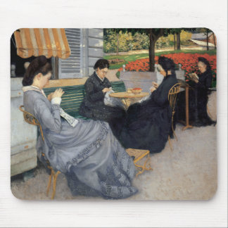 Gustave Caillebotte - Portraits in the Countryside Mouse Pad