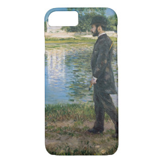 Gustave Caillebotte - Richard Gallo and His Dog iPhone 8/7 Case