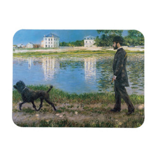 Gustave Caillebotte - Richard Gallo and His Dog Magnet