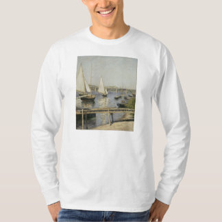 Gustave Caillebotte - Sailing Boats at Argenteuil T-Shirt
