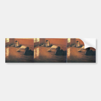 Gustave Caillebotte- The Parquet Planers Bumper Stickers