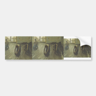 Gustave Caillebotte- 'The Parquet Planers' Bumper Stickers