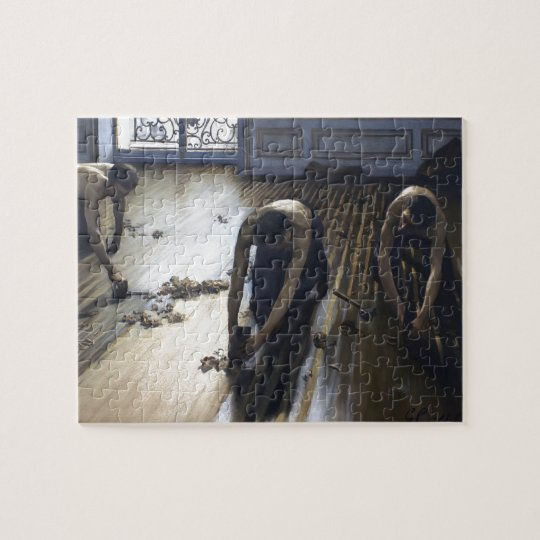 Gustave Caillebotte- The Parquet Planers Jigsaw Puzzle