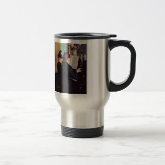 Gustave Caillebotte- The Piano Lesson Travel Mug